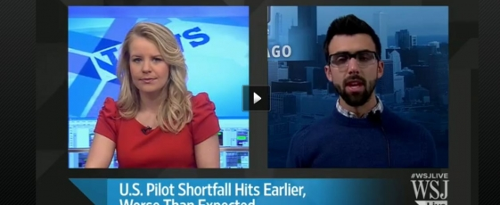 WSJ Interview of Pilot Shortage